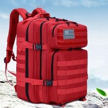 50L военный Молл рюкзак тактический армейский Мужской Дорожный водонепроницаемый чехол от дождя рюкзак туристический рюкзак Mochila matica Camping Canta