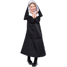Halloween Childrens Sisters Costumes Cos Jesus Christ Girls School Holiday Christmas Ball Party