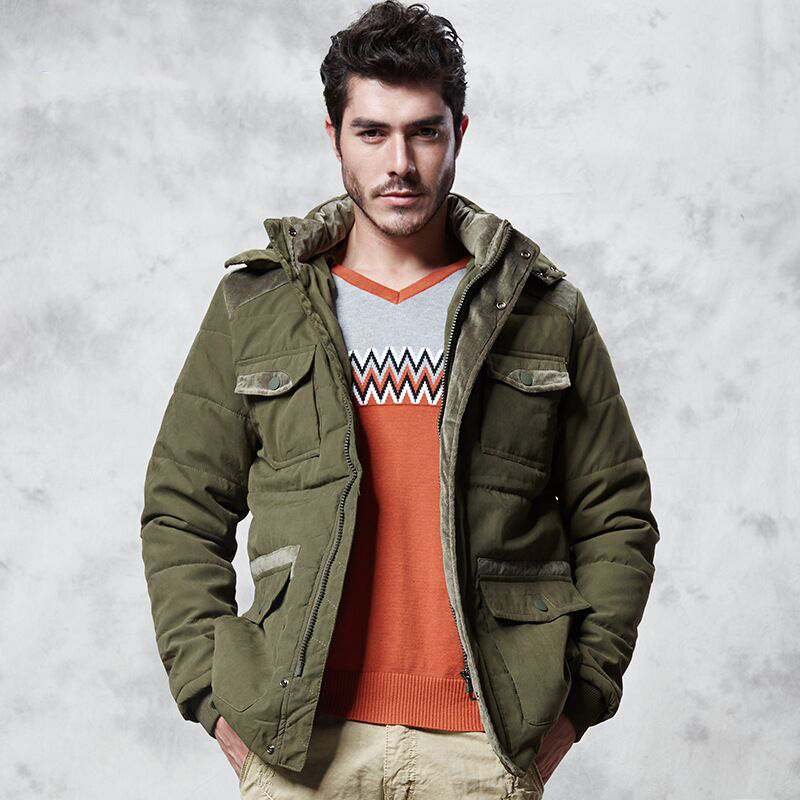 Chaud Rembourré Nouveaux Pain Marque Khaki Khaki armygreen À Veste Capuche Pardessus Manteau Hommes 2018 Et Confortable Vêtements light D'hiverPlus black Khaki dark Velours De Épais kXZlwiTPuO