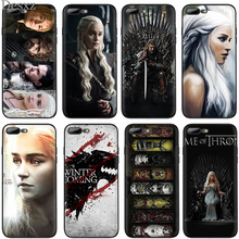 For iPhone X XR XS Max 6 6s 7 8 Plus 5 5s SE Cases Black Soft Case Anti-knock Cover Game O