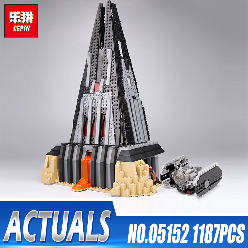 Lepin 05152 Star Toys Wars legoings 75251 Darth Vader`s Castle Set Building Blocks Bricks Assembly Toys Christmas Birthday Gifts