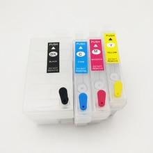 T2711 27xl Refillable Ink Cartridge For Epson T2711xl WorkForce WF7110 WF7610 WF7620 WF-3620 WF 3640 7715 WF-7710 wf-7210