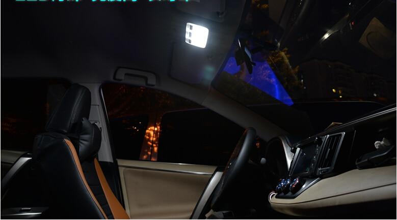 Toyota RAV4 2014 2015 Car Stying 6PCS- ի համար - Ավտոմեքենայի լույսեր - Լուսանկար 2