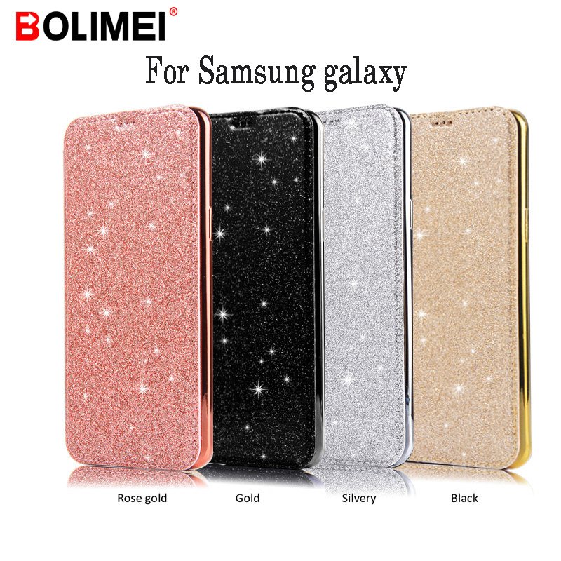 Luxury Slim Book Leather+TPU Wallet <font><b>Flip</b></font> Phone Protect Soft <font><b>Case</b></font> For Samsung galaxy S9 S8 Plus Note8 <font><b>9</b></font> S8 S7 S6 Edge Cover <font><b>Case</b></font> image
