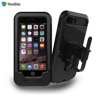 New Waterproof Bike Handlebar Mount Holder Case For IPhone 7 Outdoor Sport Shockproof Motorcycle Bicycling Case