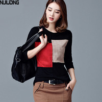 Will Render Unlined Upper Garment Of Female Long Sleeve T Shirt Long The Spring And Autumn