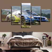 Quotes HD Watercolor Wall Modular Pictures 5 Set Modern VW Automobile Prints Home Decor Poster Kids Room Canvas Painting Artwork