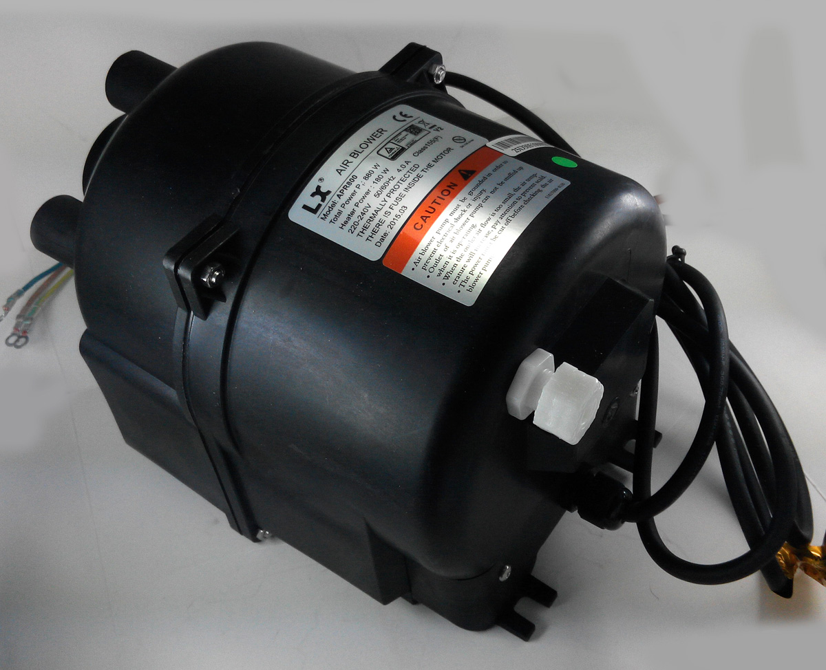 Blower Air Pump : Lx hot tub spa air pump apr blower w amps