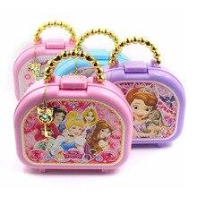 Frozen elsa and anna Nail sticker set Diseny girls Cartoon snow white Beauty pretend play Fashion Toys for kids birthday gift