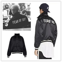 Fear Of God Jacket Men Women 1 1 High Quality New Autumn Tide Brand Clover FOG