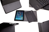 Ultra Slim Custer Russian Detachable Wireless Bluetooth Keyboard Leather Cover Case For Apple Ipad Air Ipad
