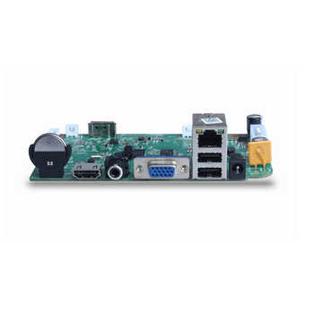 NVR Board 8CH 4MP Or 4CH 5MP H.265 XMEye APP ONVIF HDMI VGA Video Output IP Video Recorder Board For Surveillance Cameras