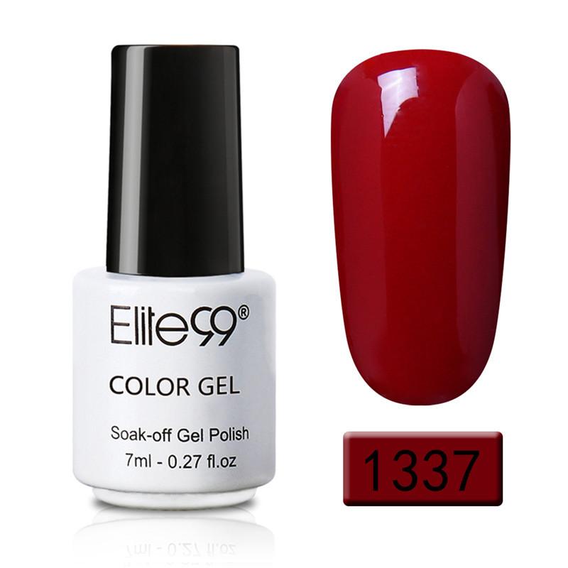 Elite99 Nail Gel Polish UV LED Color del caramelo 58 colores 7ML - Arte de uñas - foto 4