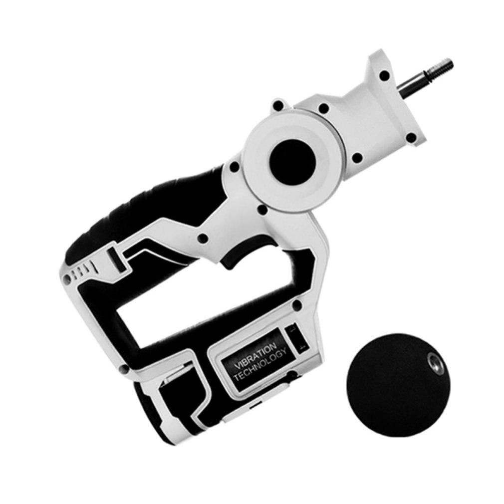Recarregável Handheld Percussão Massageador Estimulador Muscular Profunda Arma Terapêutica 6 velocidades de Vibração do Dispositivo PARA Reforço