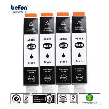 Befon X4 kompatybilny 364 wkład zamiennik dla hp 364 HP364 684EE 684 czarny wkład atramentowy do drukarki Deskjet 3070A 5510 6510 drukarki tanie i dobre opinie Pełna 364XL Hp laserjet Ink Cartridge 364XL 684EE Photosmart 5510 Plus B209a For HP Deskjet 3070A 22 5ml Black ISO14001 ISO19001 BV ten rings of CN Env Ink and Master Standard