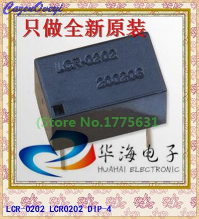 5pcs/lot LCR-0202 LCR0202 DIP-4 In Stock