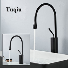 Basin Faucets Black/White Sink Faucet Brass Single handle Kitchen Swivel Water Crane New Arrivals