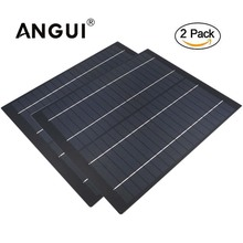 2pcs x cellulare policristallino 50 40 30 20 10 5 W Watt 18V Pannello Solare PET cellulare carica per 12V batteria del Caricatore di 5 10 20 Watt W Watt