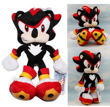 Sonic The Hedgehog Figure Plush Toy 12 Kids Soft Toys Game Doll Free ship