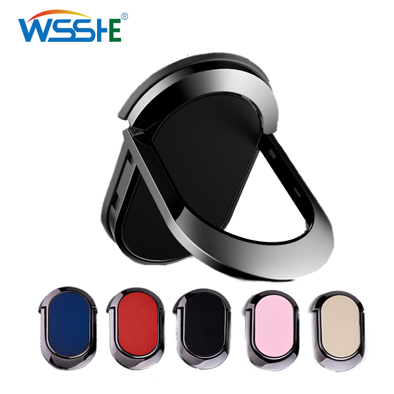 Magnet Car Phone Finger Ring Holder Support For Your Mobile Phone For IPhone Stand X 8 7 Telephone Bracket Car Phone Accessories