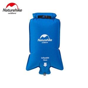 Image 1 - Naturehike Водонепроницаемая надувная подушка универсальная воздушная сумка Портативная легкая надувная Сумка влагостойкая подушка для пикника воздушные сумки
