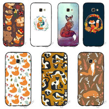 Hybrid Sly fox Phone Cover for Samsung Galaxy S8 Plus Case A3 A5 A6 S7 Edge S6 S9 Note 8 9 Soft(China)