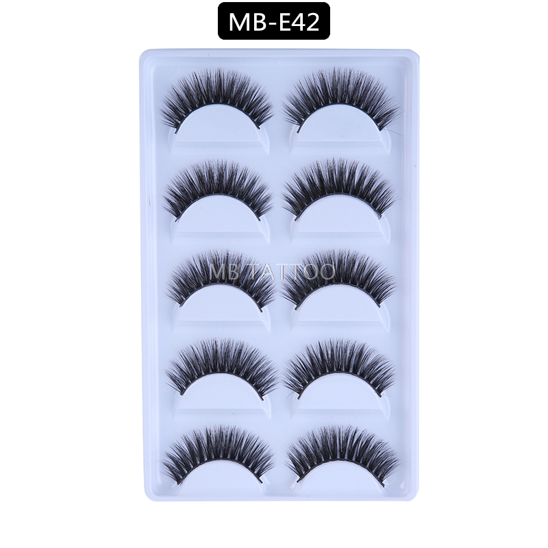 HTB1wYMQQ9zqK1RjSZFHq6z3CpXar New 3D 5 Pairs Mink Eyelashes extension make up natural Long false eyelashes fake eye Lashes mink Makeup wholesale Lashes