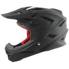 Luz Moto Off Road casco de Montaña Cuesta Abajo casco DD anillo hebilla forro desmontable y lavable, moto cross casco THH marca