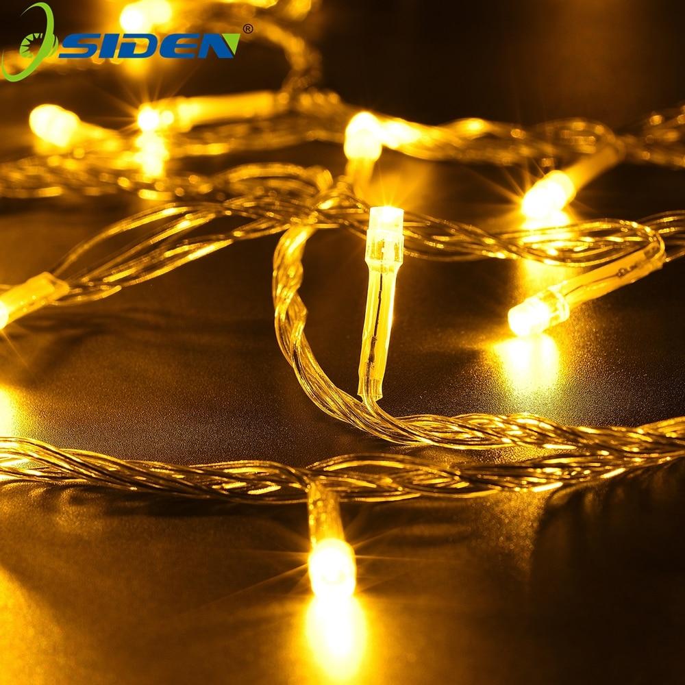 String Light 10M 100LEDs 5m 20Led Su keçirməyən açıq tətil - Xarici işıqlandırma - Fotoqrafiya 3
