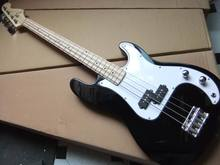 New Arrival 4 String Electric Bass Guitar  In Black 2009Fr
