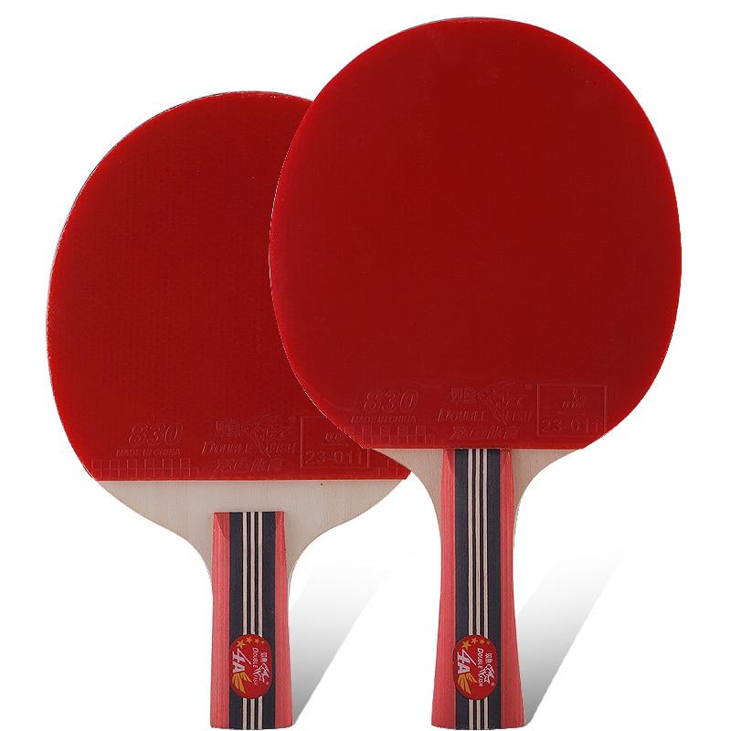 Original Double fish 4stars 4A raquetas de tenis de mesa raqueta bat - Raquetas de deportes