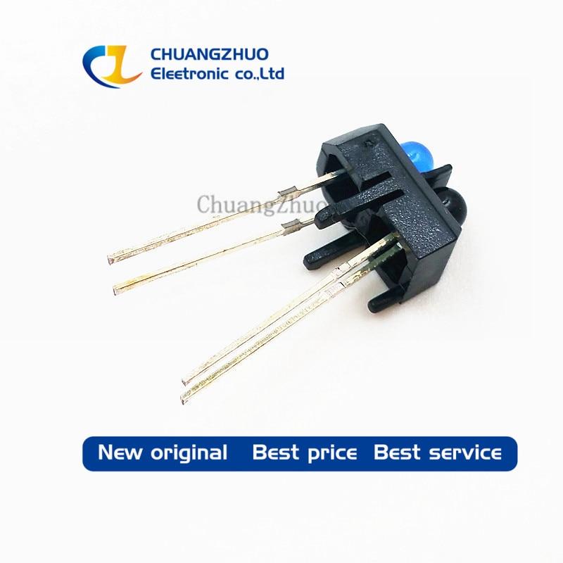 10 Pcs TCRT5000L TCRT5000 Reflective Optical Sensor Infrared IR Photoelectric Switch