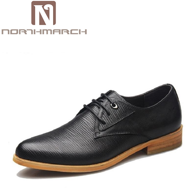 NORTHMARCH Brand Men Dress Shoes England Style Business Wedding Formal Flats Black Shoes Men Sapato Social Leather Derby ShoesNORTHMARCH Brand Men Dress Shoes England Style Business Wedding Formal Flats Black Shoes Men Sapato Social Leather Derby Shoes
