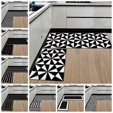 Креативный коврик для кухни в скандинавском геометрическом стиле, Противоскользящий коврик для ванной комнаты, нескользящий моющийся коврик для входной двери, коврик для прихожей