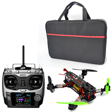 QAV 250 RTF quadcopter Frame Racing + CC3D Regulador de Vuelo + MT16-S 2300KV Motor fpv12A Simonk ESC + 5030 hélice AT9 para FPV