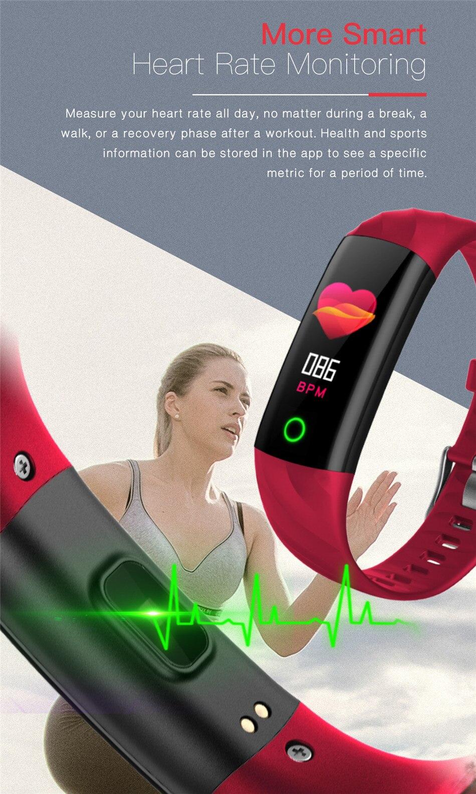 HTB1wYNDXdfvK1RjSszhq6AcGFXaT LIGE Smart Watch Women IP68 Waterproof Sport Bracelet Smart Fitness Tracker Blood Pressure Heart Rate Monitor intelligent Watch
