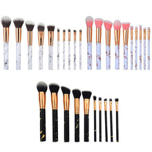 10 Pcs/Set Professional Makeup Brushes Set For Foundation Powder Eyeliner Eyelash Lip Make Up Brush Cosmetic Beauty Tool Kit цены
