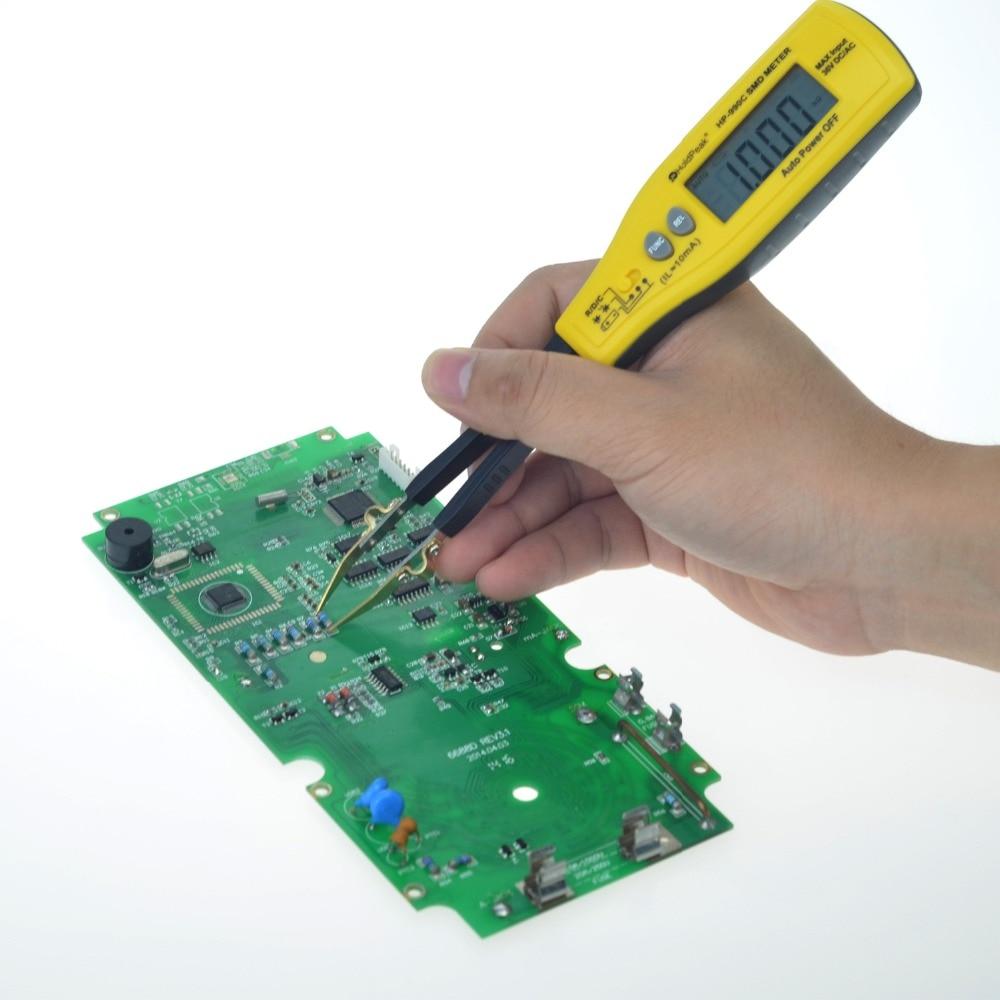 Holdpeak HP-990C SMD Digital Insulation tester Multimeter Auto Power off Resistance Capacitance Power Battery Insulation Tester  (1)