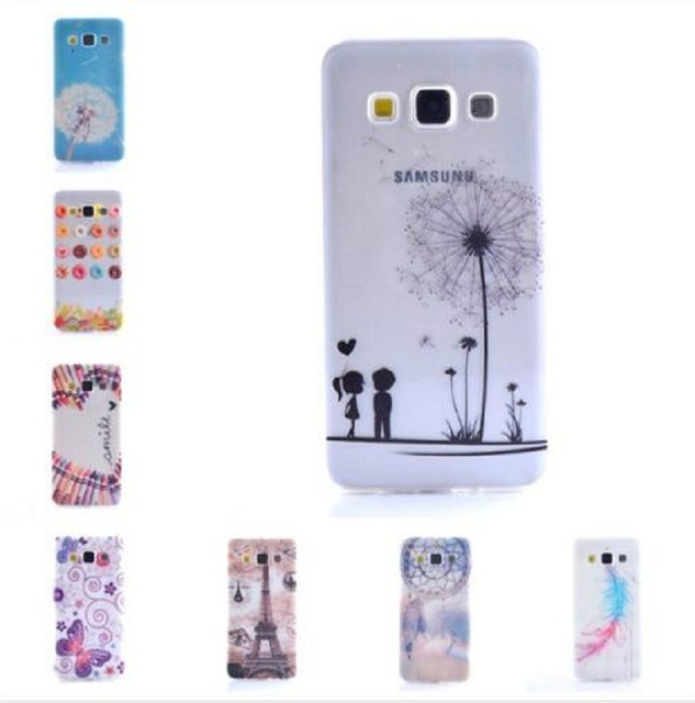 Ultra Thin Fashion Printing Silicon TPU Soft Plastic Back Cover Phone Case Shell for Samsung Galaxy A3 A3000 SM-A300F SM-A300H