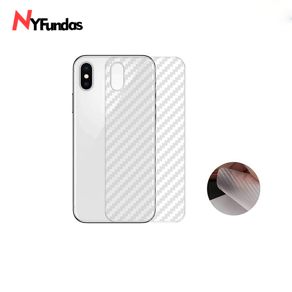 c39be762138 NYFundas 3D Carbon Fiber Back Screen Protector Film for iphone XS MAX XR X 8  7 6