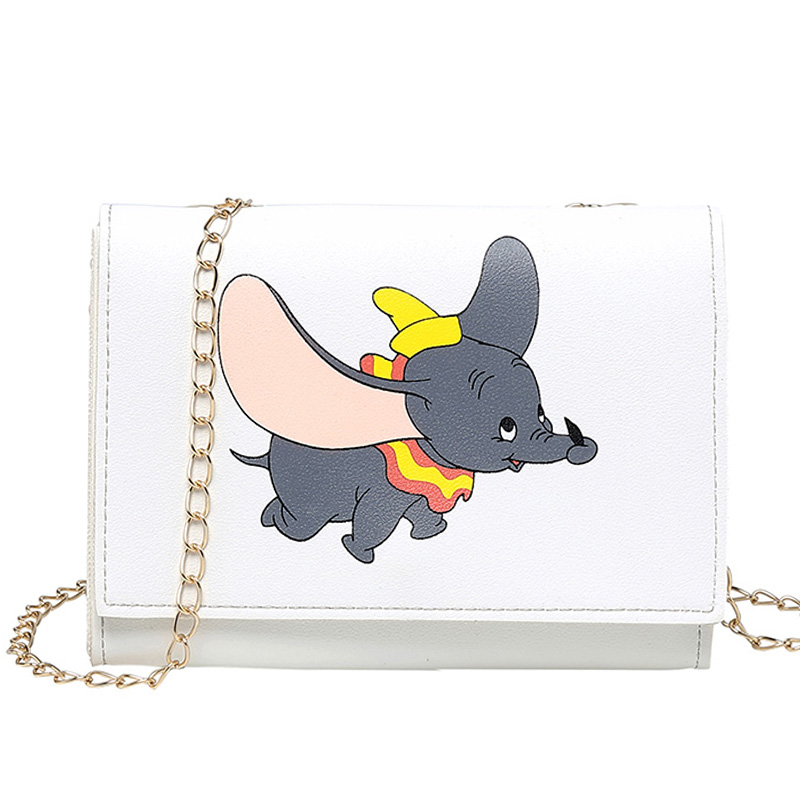 UKQLING Small Women Bag Elephant Prints Flap Girls' Messenger Bags Shoulder Purse Chain Cross Body Purse For Phone Cheap Price