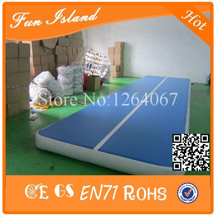 Gratis Pengiriman 0.9mm PVC 15x2 m Tiup Airtrack, Tiup gym Mat, Tiup - Hiburan dan olahraga luar ruangan - Foto 5