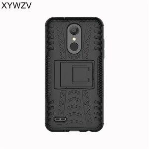 Image 3 - Coque LG K8 sFor 2018 Caso À Prova de Choque de Borracha Dura Caso de Telefone de Silicone Para LG K8 2018 Capa Para LG Aristo saco do telefone Shell XYWZV 2