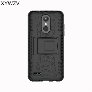 Image 3 - sFor Coque LG K8 2018 Case Shockproof Rubber Hard Silicone Phone Case For LG K8 2018 Cover For LG Aristo 2 Phone Bag Shell XYWZV