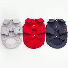 Купить с кэшбэком Dog Clothes For Small Dogs Winter Chihuahua Hoodie Bluza Dla Psa Sweater French Bulldog Coat Costume Felpe Per Cani Pets 5d0105