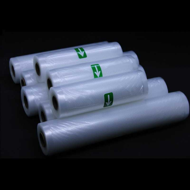 12/15//20/22/25/28*500 CM Vacuum Seal Bags Roll  for Vacuum Sealer Packing Container Food Bag Storage