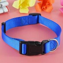 Nylon Solid Color Dog Collar | Adjustable Leash Set