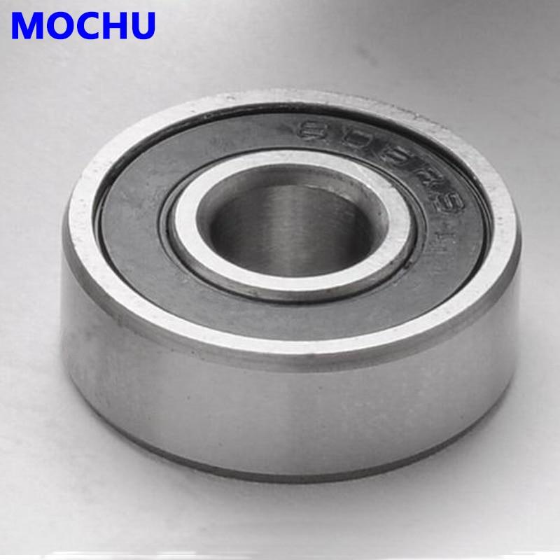 6x17x6 mm BLACK 606-2RS 50 PCS Rubber Sealed Ball Bearing Bearings 606RS