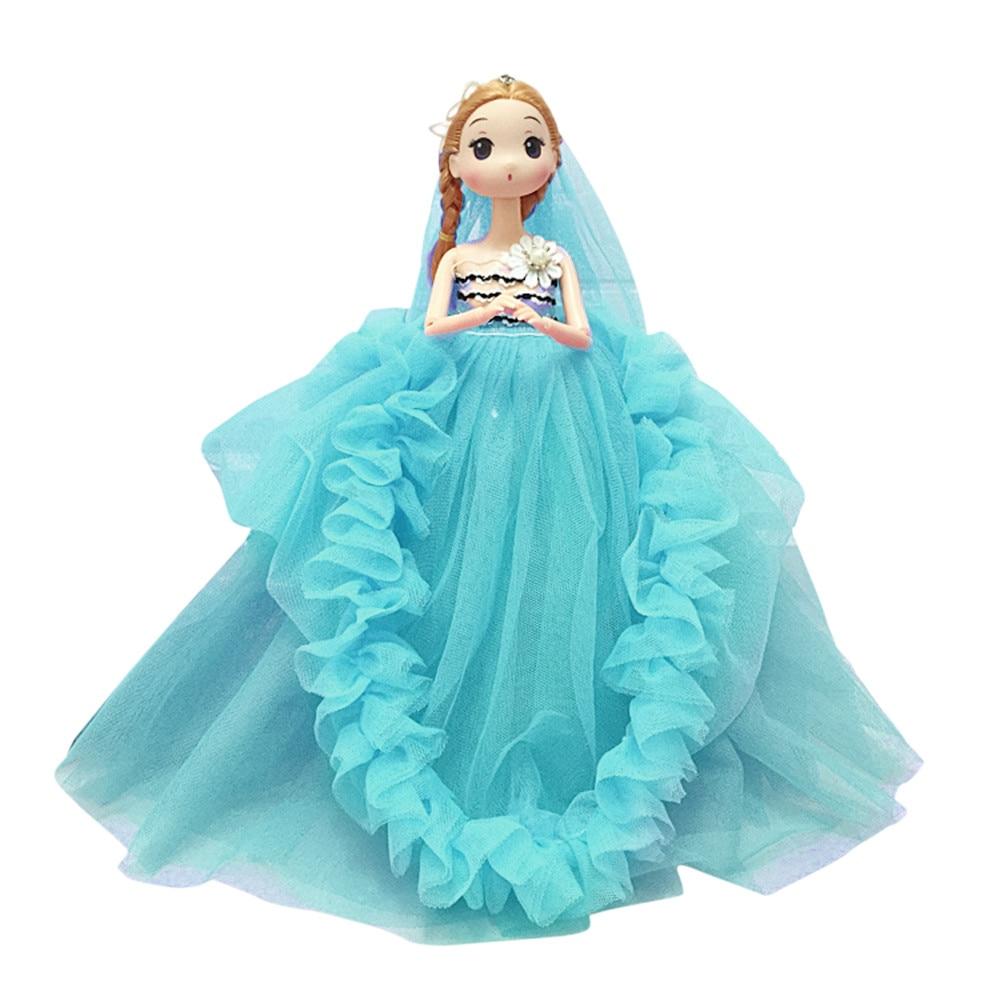 Wedding Party Princess Doll Plush Doll Pretend Toy Hand ...
