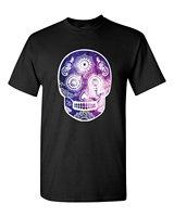 T Shirt Skull Galaxy T Shirt Day Of Dead Shirts Top Tee